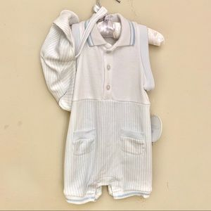 NWT $26 Edgehill Collection One Piece Baby Boy